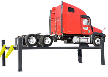 BendPak HDS-35X ALI Certified Heavy Duty Extended Four Post Car Lift