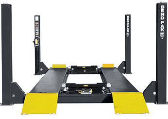 BendPak HDS-40X Extended Four Post Car Lift 40,000 lb. Capacity