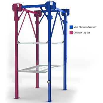 BendPak Closeout Leg Set for PL-14000