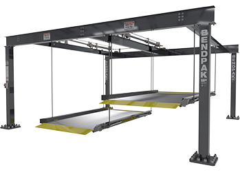 BendPak PL-6KDTX Ex-Wide Tandem / Independent Platforms Parking Lift 12,000-lb. Cap.