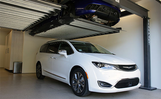 Garage parking lift by BendPak