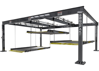 BendPak PL-6KT Triple / Independent Platforms Parking Lift 18,000-lb. Cap. - BendPakPL-6KT