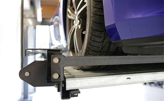 BendPak's tandem parking lift