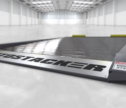 Low-profile, full-width platform deck
