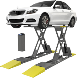 BendPak SP-7XL Full-Rise Scissor Lift w/Collapsible Frame  -  P/N 5175994