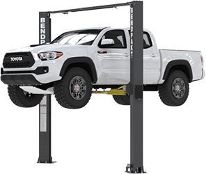 BendPak XPR-10AXLS Asymmetric Adj-Width Ex-Tall 2 Post Lift 10,000 lb.