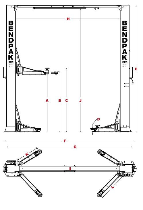 BendPakXPR-10XLS Specs