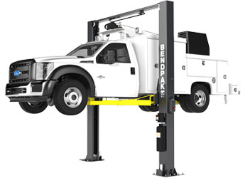 BendPak XPR-12CL-LTA-192 Ex-Tall 2 Post Lift w/Long-Reach Triple-Telescoping Arms