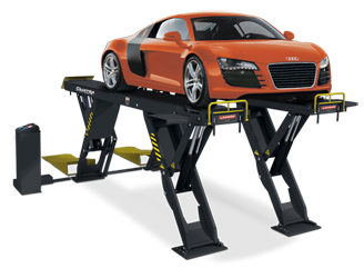 BendPak XR-12000AL Quatra™ Pantograph Scissor Alignment Lift 12,000 lb - New Gray