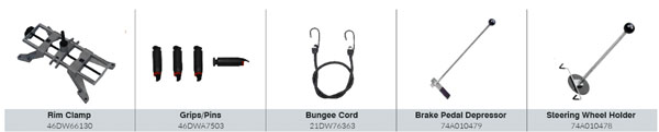 CEMB DWA1000XCWAS Standard Accessories
