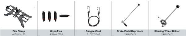CEMB DWA1000XLB Standard Accessories