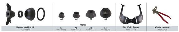 CEMB EZ1 Standard Accessories