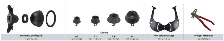 CEMB EZ15 Standard Accessories