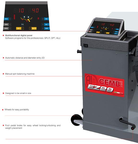 CEMB EZ29 Features