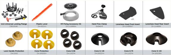 SM1100 Standard Accessories
