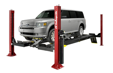 Challenger AR4015EAO Open Front 4 Post Alignment Rack 15,000 lbs