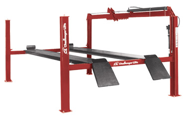 Challenger 44018AR Medium-Duty 4-Post Alignment Lift 18,000 lb Capacity or AR40018AR Lift Package