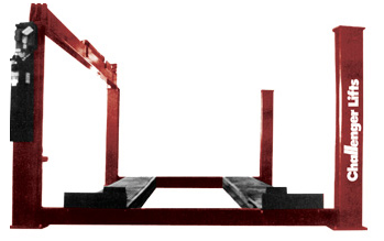 Challenger 44030 Heavy-Duty 4-Post Hydraulic Lift 30,000 lb Capacity