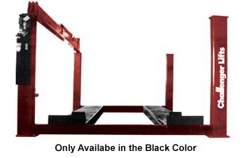 Challenger 44030E HD 4-Post Hydraulic Ex-Length Lift  30,000 lb - New Black Color