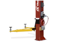 Challenger Lifts CL10V3-DPS Versymmetric 2 stage- front arm two post automotive lift