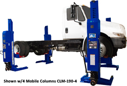 Challenger CLHM-190 HD Mobile Column Lifts Set of 2 - CLHM-190-2