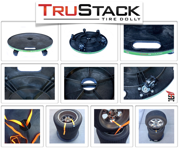 Chariot Concepts TruStack tire dolly