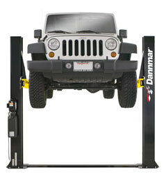 Dannmar  D-8 8000 Two Post Car Lift 9,000 lb.