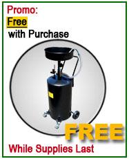 Dannmar Lift Free 20 Gallon Oil Drain