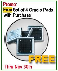 Dannmar Lift Free Cradle Pads