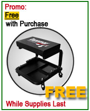 Dannmar Lift Free Rolling Work Seat Offer