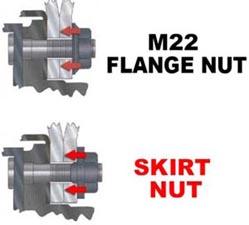 ESCO 40125-100 Skirt Nut