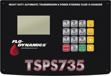 Flo-Dynamics 735 Series Control Panel
