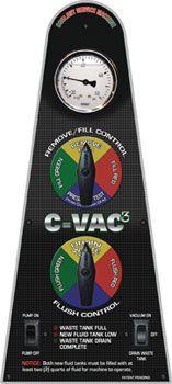 Flo-Dynamics C-VAC3 Control Panel