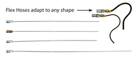 EVAC-U-MAX Standard Adapters