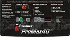 Flo-Dynamics ProMax40 Control Panel