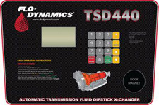 Flo-Dynamics TSD440 Control Panel