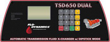 Flo-DynamicsTSD650 DUAL Control Panel