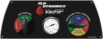 Flo-Dynamics VacFill3 Control Panel