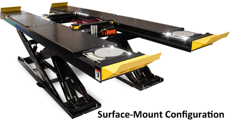 Hofmann EELR787A Surface-Mount/EELR788A Flush-Mount 14K Scissor Standard Bay Alignment Lift Packages