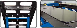 Hofmann BLA10195LL 10k scissor alignment lift Slip Plates