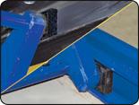 Hofmann BLA10195LL 10k scissor alignment lift uhmw slide blocks