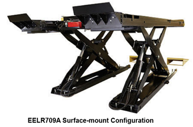 Hofmann EELR709A & EELR724A Surface or Flush Mount 14K  Scissor Alignment Lift