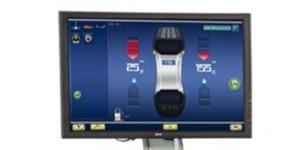 Hofmann geodyna 7800P Touchscreen