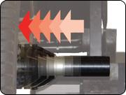 Hofmann Geodyna 9300 power clamp