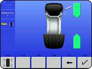 Hofmann Geodyna 9600p tire wheel match