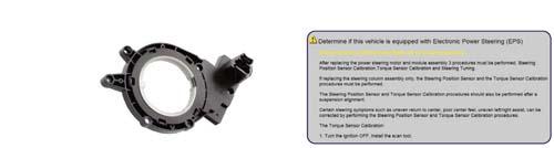 Hofmann Geolinner 550 ez-link steering angle sensor