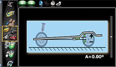 Hofmann Geolinner 550 Ride Height Measurement