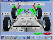 Hofmann Geolinner 650 2-Wheel Alignment Capability