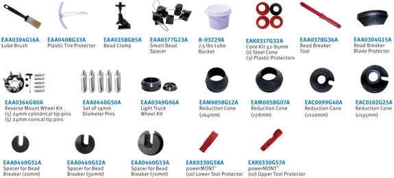 Hofmann monty 8800P standard accessories