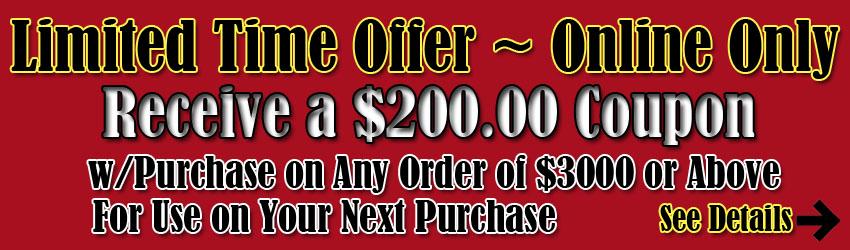 $200 coupon